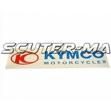Abtibild Kymco 111x27mm - alb