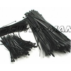 cable ties 250mm x 4.8mm - set of100 bucati