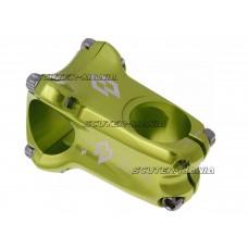 Pipa ghidon Native Enduro forjata la rece 31.8mm ext 50mm, unghi 0 grade - verde