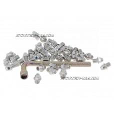Set pini rezerva Native otel  M4x4 40 bucati ascutite - argintiu