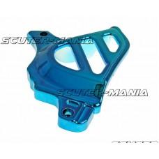 Capac pinion fata albastru pentru Minarelli AM, Generic, KSR-Moto, Keeway, Motobi, Ride, 1E40MA, 1E40MB