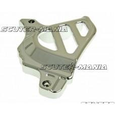 Capac pinion fata crom pentru Minarelli AM, Generic, KSR-Moto, Keeway, Motobi, Ride, 1E40MA, 1E40MB