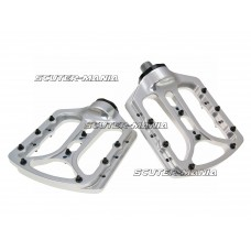 n8tive flat pedal NOAX V.2 AM forged - silver (RawEdition)