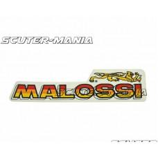 Abtibild Malossi logo 87x21mm