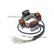 Stator aprindere sistem analog Polini pentru Piaggio Ape 50 (pornire electrica)
