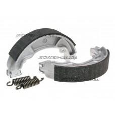 Set saboti frana Polini 130x25mm pentru frana cu tambur pentru Honda NES, SES, PCX, SH