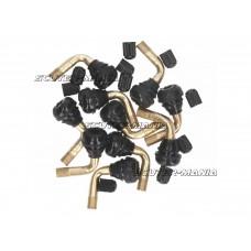 Valva tubeless 90 grade PVR70 - set de 10 - 101 Octane