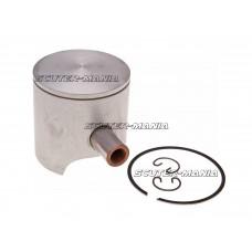 Kit piston Polini 70cc 47.6mm bolt piston 12mm (A) pentru Piaggio, Minarelli