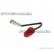 Senzor temperatura Koso 0-250 grade - adaptor M12xP1.5 - conector alb