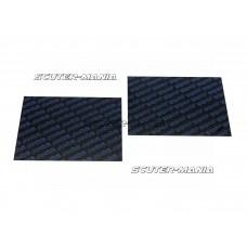 Coala fibra de carbon Polini 0,30mm 110x100mm - universala (albastra)