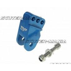 Inaltator amortizor spate CNC montare reglabila 3 gauri - albastru pentru CPI, Keeway, Generic