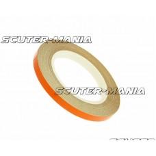 Banda reflectorizanta janta 5mm latime - portocaliu - 600cm in lungime