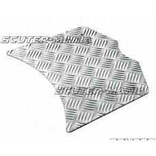 Placa picioare Opticparts DF aluminiu carouri pentru Yamaha BWs, MBK Booster