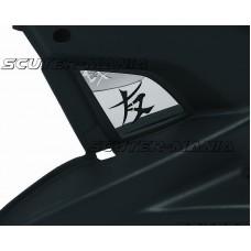 Ecran capac aerisire ODF pentru capac mootor otel lustruit lucios pentru Yamaha Aerox, MBK Nitro