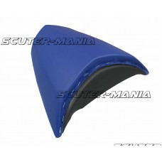 Imbracaminte sa pasager Opticparts DF albastra pentru Peugeot Jetforce