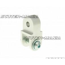 Kit inaltare CNC 40mm argintiu pentru Aprilia, Suzuki, Morini