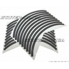 Banda autoadeziva jante Opticparts DF - aspect carbon