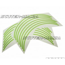 Banda autoadeziva jante Opticparts DF - verde