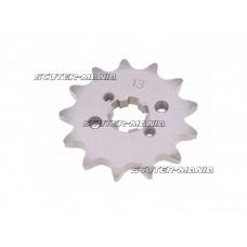 Pinion fata - pas 420 - 13 dinti pentru Derbi Senda GPR, Aprilia RS RX SX, Gilera RCR, SMT (D50B0)