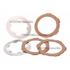 clutch disk set Polini cork pentru Vespa PK 50, 125 FL, XL, Piaggio APE 50 TL5, TL6
