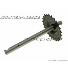 crank with 24 tooth sprocket pentru Peugeot 103