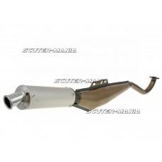 exhaust expansie lacquered / aluminum pentru Puch Maxi