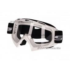 MX goggle S-Line white