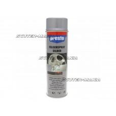 Spray jante argintiu Presto 500ml