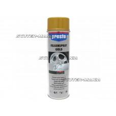 Spray jante auriu Presto 500ml