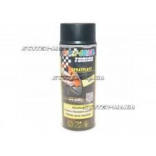 Vopsea tip colant Dupli-Color Sprayplast negru mat 400ml