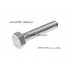 Suruburi cap hexagonal DIN933 M5x25 filet complet otel placat cu zinc (25 bucati)