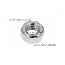 Piulite hexagonale DIN934 M5 zincate (100 bucati)