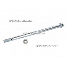 Ax spate / bascula 12mm pentru Derbi Senda 00-, Aprilia RX, SX, Gilera RCR - 101 Octane