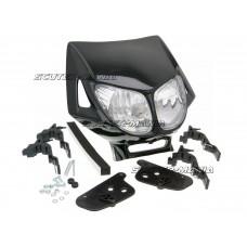 headlight mask Enduro dual optics black