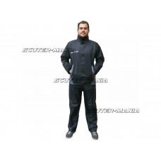 Costum ploaie S-Line (2 bucati / negru) - marime S