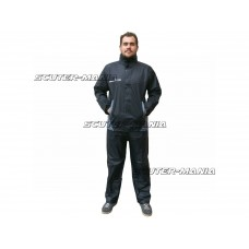 Costum ploaie S-Line (2 bucati / negru) - marime XL