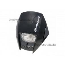 headlight Polisport Exura black