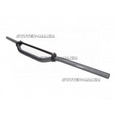 Ghidon Enduro aluminiu aspect carbon cu bara transversala aspect carbon 22mm - 820mm