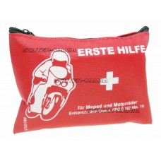 first aid kit pouch pentru motorcycle, geared bike, scooter