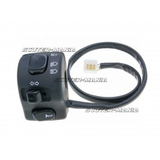 left-hand switch assy indicator, high / low beam, horn - universal