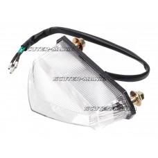 Ansamblu stop frana spate LED pentru Aprilia RX, SX, Beta RR, CPI SX, Derbi Senda, Peugeot, Rieju