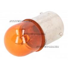 Bec semnalizare portocaliu RY10W BAU15s 12V 10W