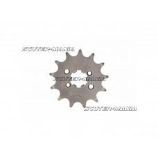 Pinion fata AFAM 13 dinti - pas 420 pentru Piaggio / Derbi D50B0, EBE, EBS