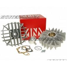 Set motor Airsal racing 63.2cc 46mm pentru Puch Monza 4-Gang, White Speed