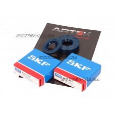 crankshaft bearing set ARTEK K1 racing SKF polyamide pentru Minarelli