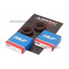 crankshaft bearing set ARTEK K1 racing SKF polyamide pentru Derbi Senda