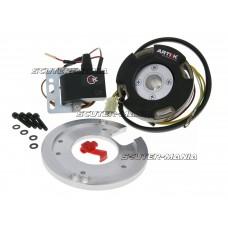 Aprindere rotor intern Artek K1 racing analog cu lumina pentru Minarelli (dupa 2004)