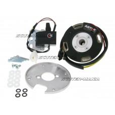 Aprindere rotor intern Artek K1 racing analog cu lumina pentru Peugeot vertical