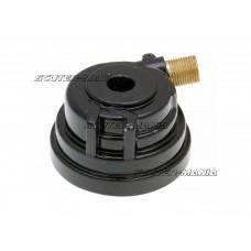 Melc km tetragonal pentru cablu cap filetat (inaltime instalare 32mm)