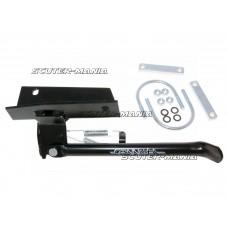 Cric lateral Buzzetti negru pentru Peugeot Ludix roata de 10 inch
